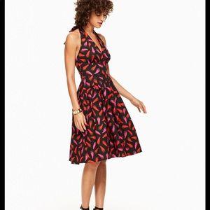 ISO! Kate Spade Hot Pepper Halter Dress 10 12 14